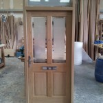 Solid Oak with fittings